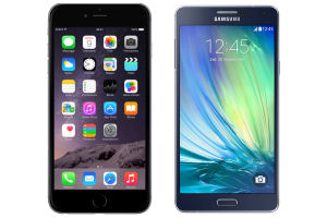 Confronto iPhone 6 plus e Galaxy A7